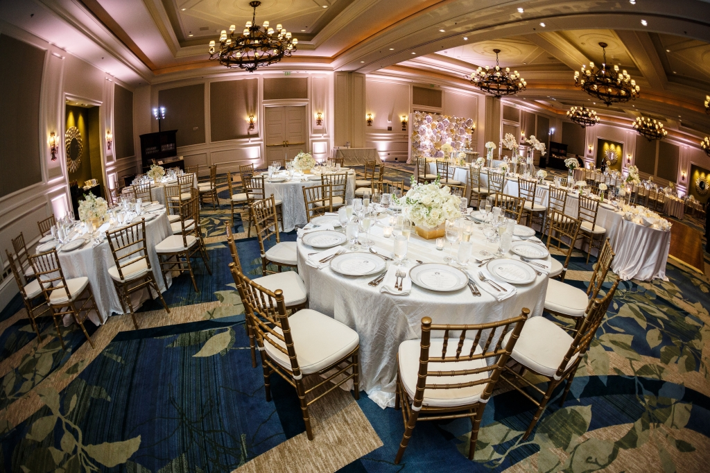 Ritz Carlton Wedding Lighting