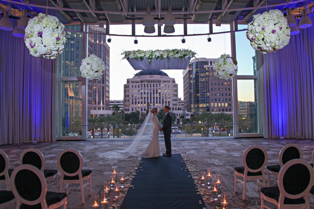Dr. Phillips Center for the Performing Arts Orlando Wedding